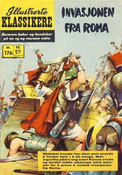 Cover for Illustrerte Klassikere [Classics Illustrated] (Illustrerte Klassikere / Williams Forlag, 1957 series) #176 - Invasjonen fra Roma