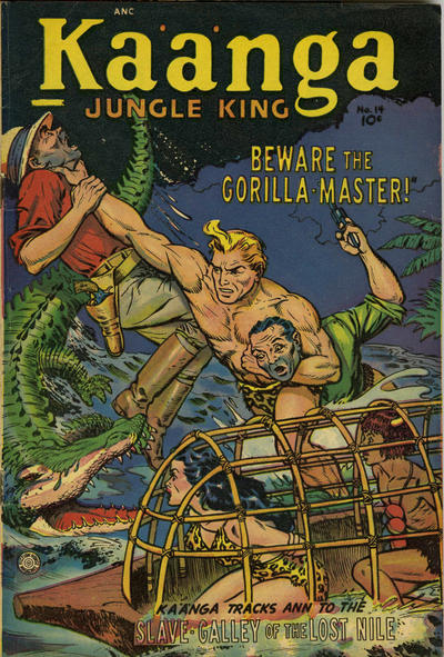 Cover for Ka'a'nga (Superior Publishers Limited, 1952 series) #14