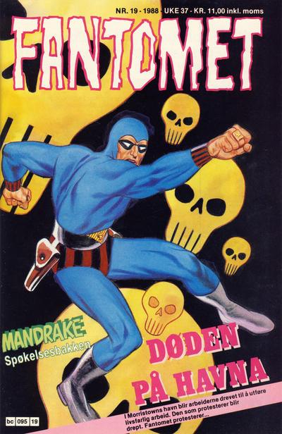 Cover for Fantomet (Semic, 1976 series) #19/1988