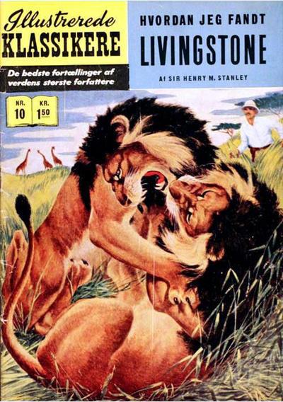 Cover for Illustrerede Klassikere (I.K. [Illustrerede klassikere], 1956 series) #10