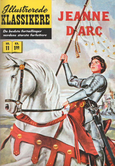 Cover for Illustrerede Klassikere (I.K. [Illustrerede klassikere], 1956 series) #11