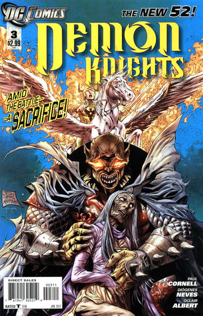 Cover for Demon Knights (DC, 2011 series) #3