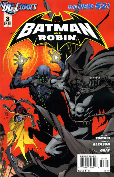 Cover for Batman and Robin (DC, 2011 series) #3