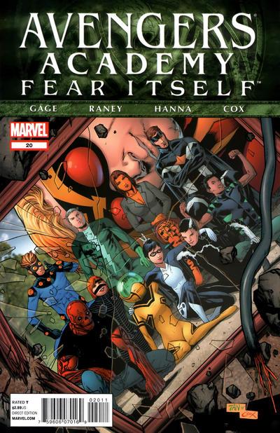 Cover for Avengers Academy (Marvel, 2010 series) #20