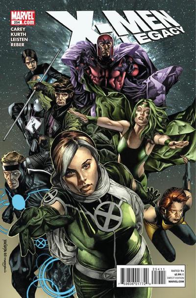 Cover for X-Men: Legacy (Marvel, 2008 series) #254
