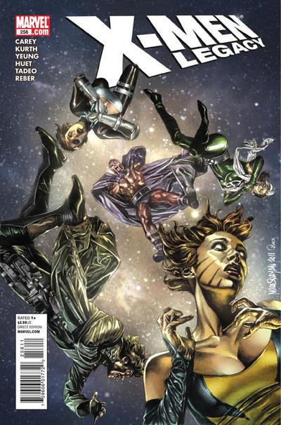 Cover for X-Men: Legacy (Marvel, 2008 series) #256