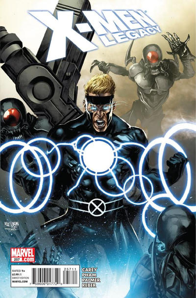 Cover for X-Men: Legacy (Marvel, 2008 series) #257
