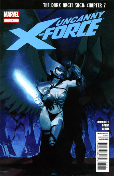 Cover for Uncanny X-Force (Marvel, 2010 series) #17