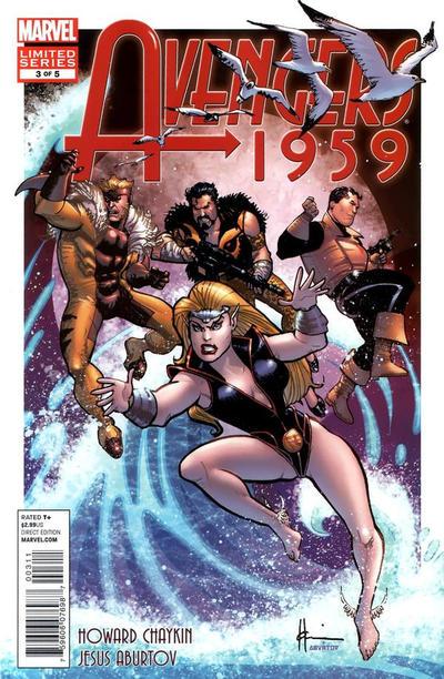 Cover for Avengers 1959 (Marvel, 2011 series) #3