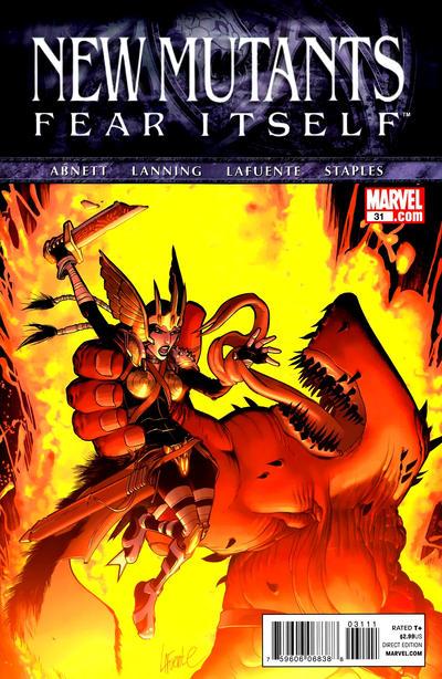 Cover for New Mutants (Marvel, 2009 series) #31