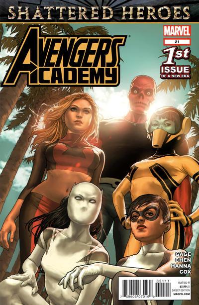 Cover for Avengers Academy (Marvel, 2010 series) #21
