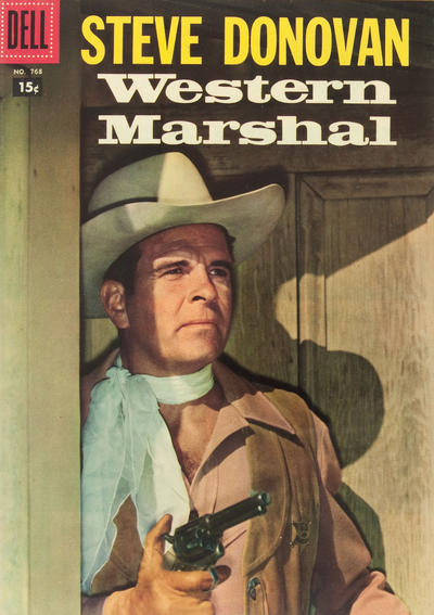 Cover for Four Color (Dell, 1942 series) #768 - Steve Donovan Western Marshal