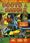 Cover for Boots & Saddle (Bell Features, 1951 series) #28