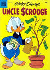 Cover for Walt Disney's Uncle Scrooge (Dell, 1953 series) #18 [15¢]