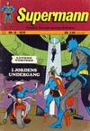 Cover for Supermann (Illustrerte Klassikere / Williams Forlag, 1969 series) #15/1970