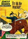 Cover for Hemliga brigaden (Williams Förlags AB, 1965 series) #3