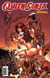 Cover for Queen Sonja (Dynamite Entertainment, 2009 series) #24 [Adriano Batista Cover]