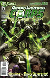 Cover for Green Lantern Corps (DC, 2011 series) #3