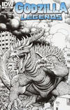 Cover Thumbnail for Godzilla Legends (2011 series) #1 [Retailer Incentive A]