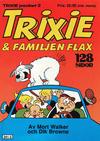 Cover for Trixie pocket (Atlantic Förlags AB; Pandora Press, 1990 series) #2