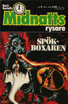 Cover for Boris Karloffs midnattsrysare (Semic, 1972 series) #4/1973