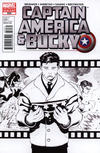 Cover Thumbnail for Captain America and Bucky (2011 series) #620 [2nd Printing Sketch Variant by Ed McGuinness]