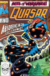 Cover for Quasar (Marvel, 1989 series) #5 [Direct]