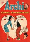Cover for Archi Número Extraordinario (Editorial Novaro, 1958 series) #[6]