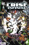 Cover for Crise Infinita (Panini Brasil, 2006 series) #4