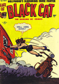 Cover Thumbnail for Black Cat (Harvey, 1946 series) #13