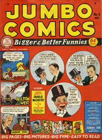 Cover Thumbnail for Jumbo Comics (Fiction House, 1938 series) #2 [Price variant]