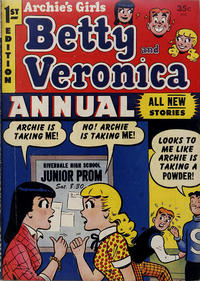 Cover Thumbnail for Archie's Girls, Betty and Veronica Annual (Archie, 1953 series) #1 [Canadian edition]