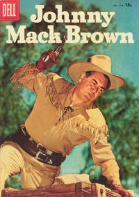 Cover Thumbnail for Four Color (Dell, 1942 series) #776 - Johnny Mack Brown [Price variant]