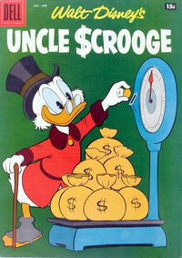 Cover Thumbnail for Uncle Scrooge (Dell, 1953 series) #20 [Price variant]