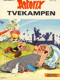 Cover Thumbnail for Asterix (Hjemmet / Egmont, 1969 series) #4 - Tvekampen