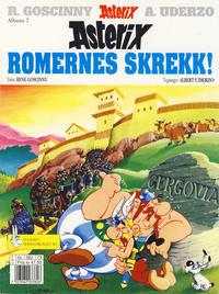 Cover Thumbnail for Asterix (Hjemmet / Egmont, 1969 series) #7 - Romernes skrekk! [10. opplag]