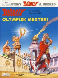 Cover Thumbnail for Asterix (Hjemmet / Egmont, 1969 series) #8 - Olympisk mester! [11. opplag [10. opplag]]