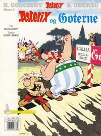 Cover Thumbnail for Asterix (Hjemmet / Egmont, 1969 series) #9 - Asterix og goterne [9. opplag]