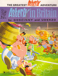 Cover Thumbnail for Asterix (Dargaud International Publishing, 1984 ? series) #[8] - Asterix in Britain