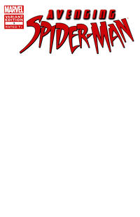 Cover Thumbnail for Avenging Spider-Man (Marvel, 2012 series) #1 [Variant Edition - Blank Cover]