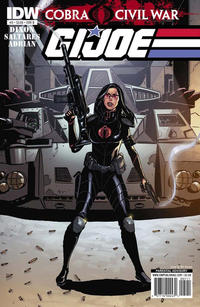 Cover Thumbnail for G.I. Joe (IDW, 2011 series) #5 [Cover B]