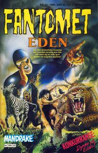 Cover Thumbnail for Fantomet (Semic, 1976 series) #22/1988