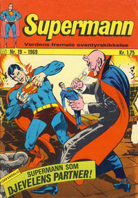 Cover Thumbnail for Supermann (Illustrerte Klassikere / Williams Forlag, 1969 series) #19/1969