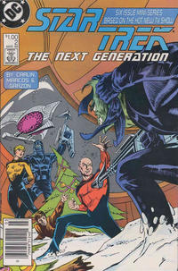 Cover Thumbnail for Star Trek: The Next Generation (DC, 1988 series) #2 [Newsstand]