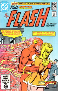 Cover for The Flash (DC, 1959 series) #302 [Direct Sales Variant]