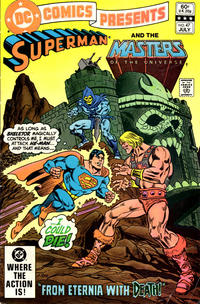 Cover Thumbnail for DC Comics Presents (DC, 1978 series) #47 [Direct Sales Variant]
