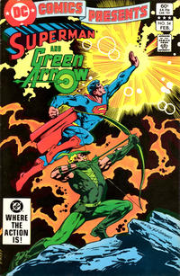 Cover Thumbnail for DC Comics Presents (DC, 1978 series) #54 [Direct Sales]
