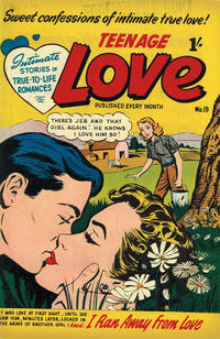 Cover Thumbnail for Teenage Love (Magazine Management, 1952 ? series) #19