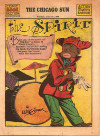 Cover Thumbnail for The Spirit (Register and Tribune Syndicate, 1940 series) #8/1/1943