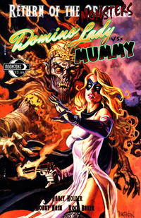 Cover Thumbnail for Return of the Monsters: Domino Lady vs. Mummy (Moonstone, 2011 series)